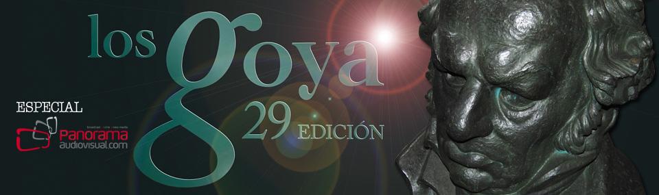 Panorama Audiovisual – Especial Goyas 2015