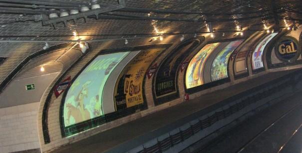 Andén 0 Metro de Madrid