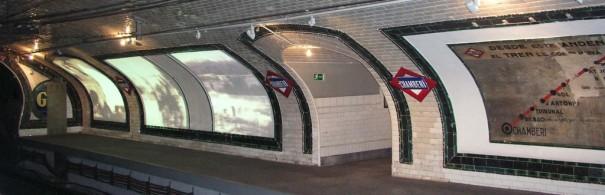 Techex en Andén 0 Metro de Madrid