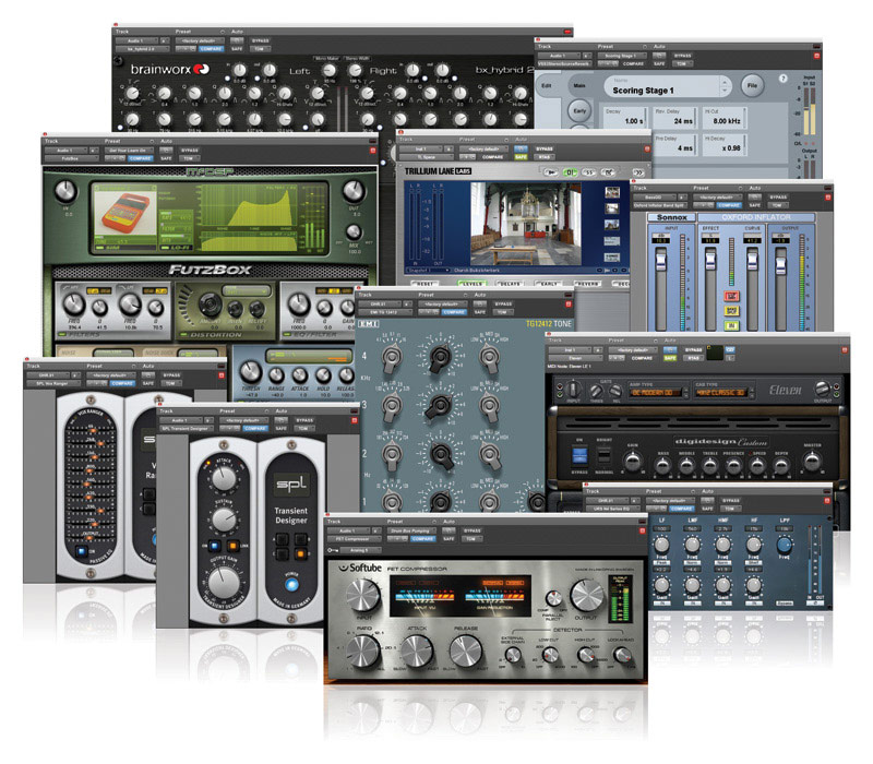 Digidesign Massive Pack 8 para Pro Tools HD   Panorama Audiovisual