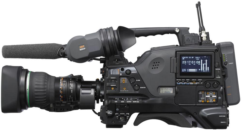 Sony PDW-F800 con velocidad de cuadro variable