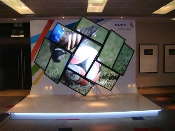 Instalación en el SonyStyle Store de la avenida George V de París, Premio POPAI 2009
