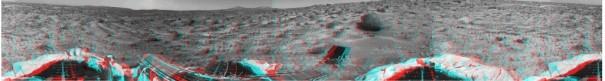 La estereoscopía ha venido utilizándose en diversos campos. En la imagen, fotografía 3D de Marte realizada por la Misión Pathfinder (Foto: NASA)