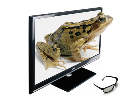 JVC Display 3D