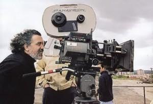 Fernando Trueba en rodaje