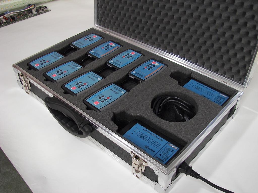 Gegensprechanlage altair wb serie zweikanal wireless