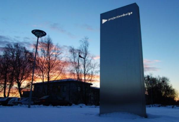 Oficinas centrales de Projectiondesign en Noruega