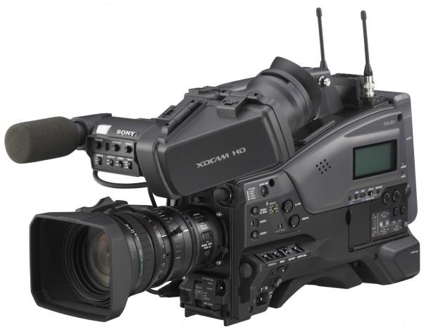 Camcorder PMW-350, unas de las novedades de Sony que podrán verse en Broadcast'09