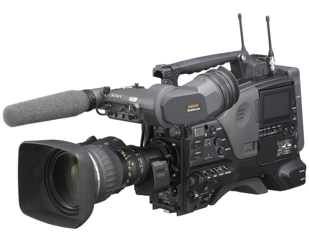 Sony PDW-F800: producción de alto nivel para los operadores más ...