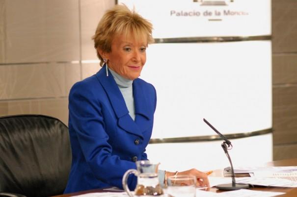 María Teresa Fernández de la Vega, Vicepresidenta del Gobierno