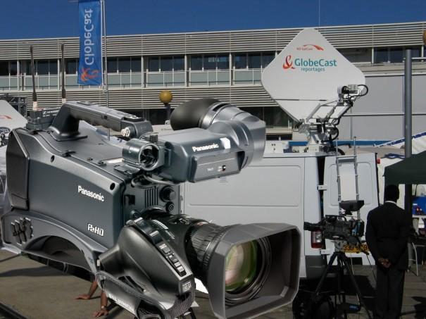 Acuerdo Globecast-Panasonic