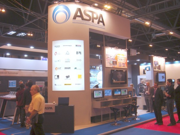 Stand de Aspa en Broadcast'09