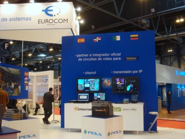 Stand de Eurocom en Broadcast'09