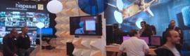 Hispasat muestra en Broadcast'09 sus propuestas para HD y 3D