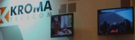 Nuevos monitores e intercom de Kroma en Broadcast'09