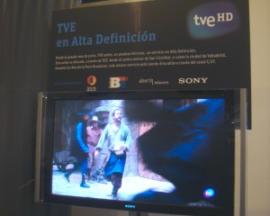 TVE HD en Broadcast'09