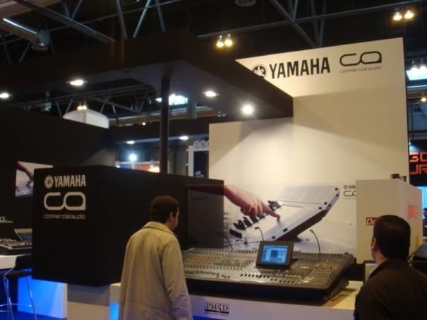Stand de Yamaha en Broadcast'09