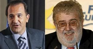 José Miguel Contreras y José Manuel Lara