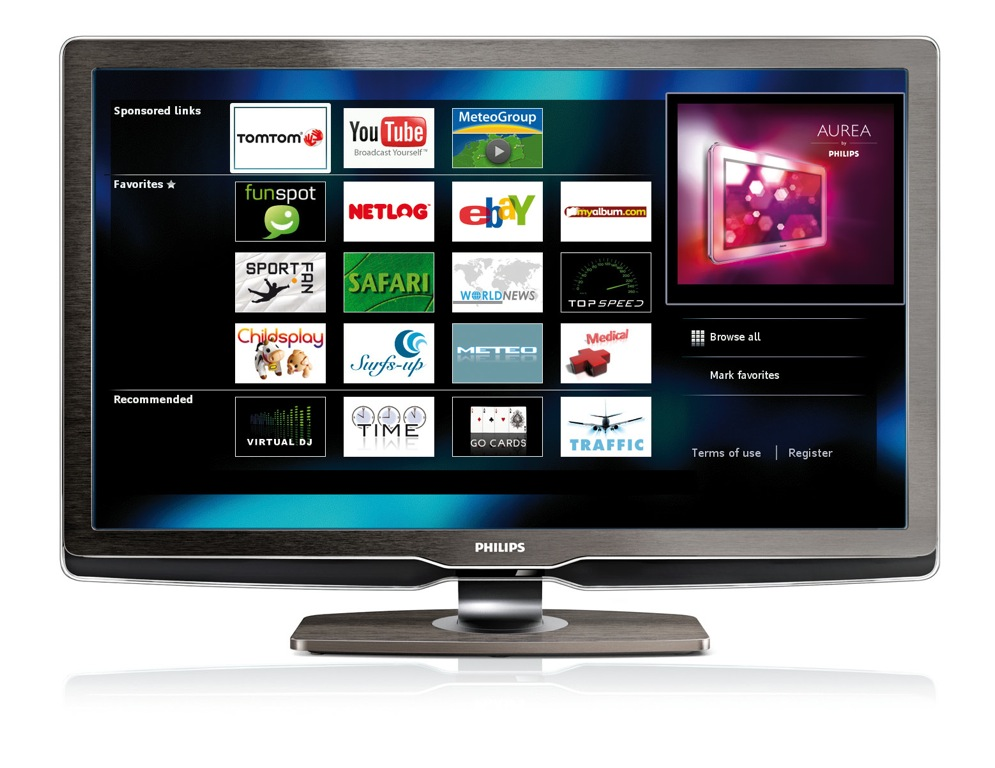 dos de cada diez televisores que se vendan en 2010 tendr n conexi n a internet. Black Bedroom Furniture Sets. Home Design Ideas