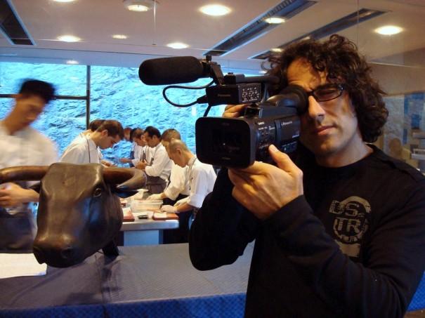 El rodaje con cámaras Panasonic permitió captar imágenes de forma no invasivas en la cocina de El Bulli