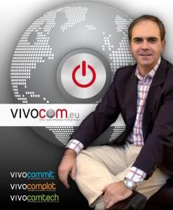 Raúl de la Cruz, CEO de Vivocom