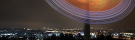 Siemens ilumina Munich en Navidad con una estrella gigante de LEDs