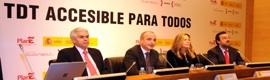 El Gobierno promueve el acceso de las personas con discapacidad a la TDT