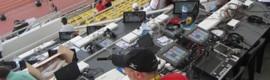 Tecnología AEQ en la totalidad de los puestos de comentaristas en la Copa Africana