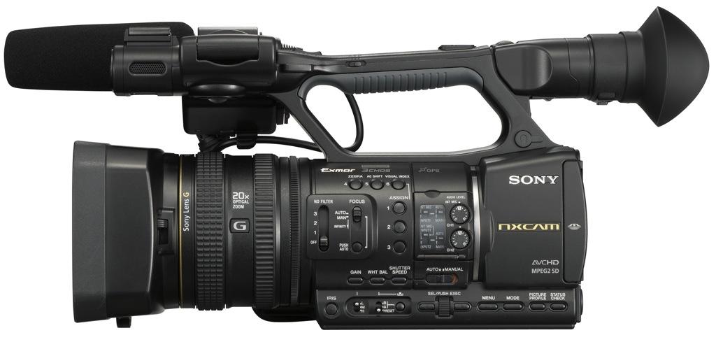 Sony HXR-NX5: un camcorder, basado en AVCHD, que incluye ...