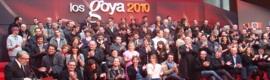 Optimismo en la gala de finalistas de los Goya