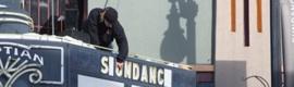 Barco en las proyecciones 3D del Sundance