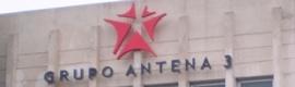 Antena 3 aumenta su beneficio neto un 153,4%, hasta los 57,6 millones de euros