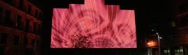 Creatividad visual en la gran pantalla del Medialab-Prado