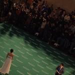 Cientos de fotógrafos han seguido cada paso en la alfombra verde
