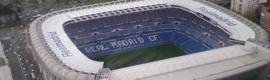 Cuatro móviles HD en el Real Madrid-Olympique Lyonnais