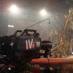 Rig en el rodaje del concierto 3D de Bunbury