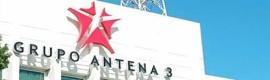 El grupo Antena 3 aumenta su beneficio neto un 80% en 2010