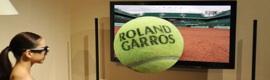 Roland Garros, la gran cita en tierra batida, también se apunta al 3D