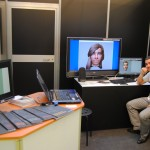 Avatares virtuales en el stand de La Salle-Universitat Ramon Llull en Audiovisual MAC