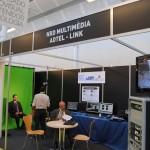 Stand de NRD Multimedia, ADTEL y Link en Audiovisual MAC