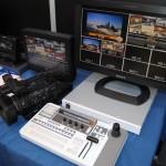 Equipamiento Sony en el stand de NRD en Audiovisual MAC