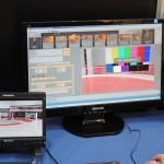 Set virtual en VSN en el stand de NRD en Audiovisual MAC