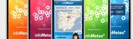 Toda la información meteorológica de InfoMeteo, también en iPhone