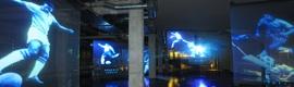 Aluvión de imágenes en el nuevo Museo del Fútbol en el Pacaembu
