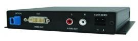Nuevos receptores de fibra óptica 3G/HD/SD-SDI a HDMI, DVI, VGA y componentes de CSI