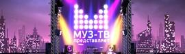 Vector 3 automatiza el playout de dos canales rusos