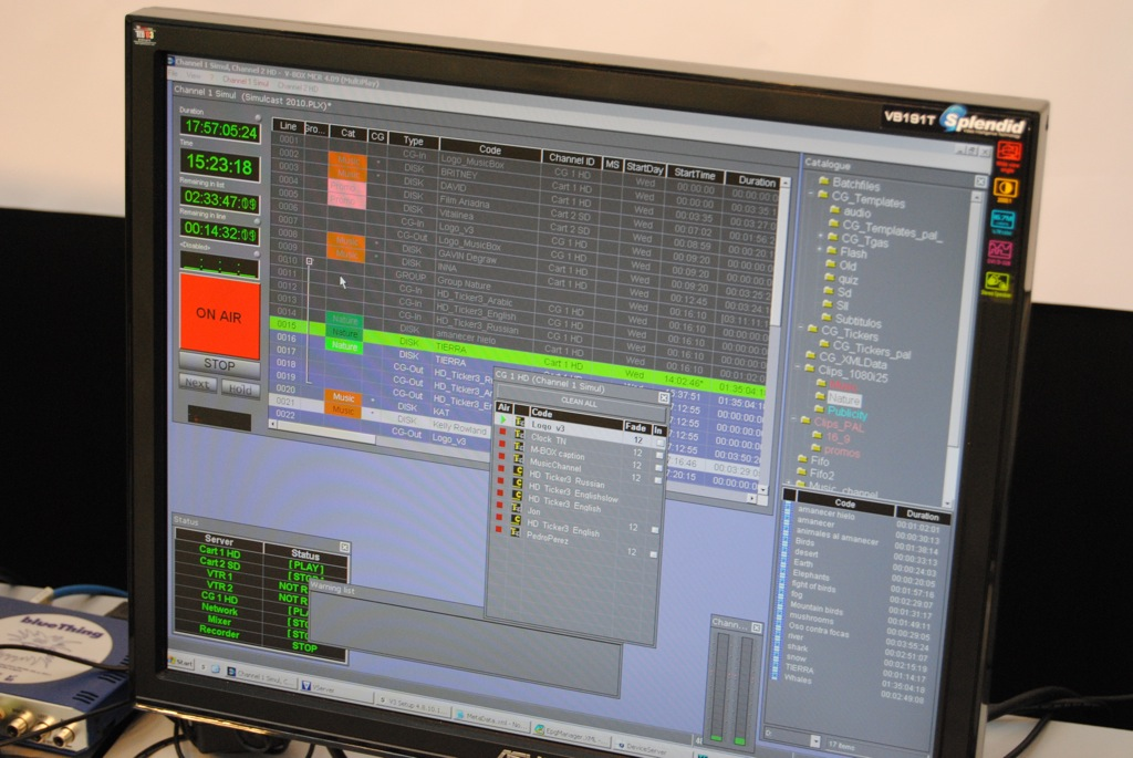 Vector 3 lleva a Broadcast Asia su propuesta de playout multicanal