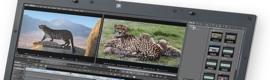 La china CCTV edita sus noticias en campo sobre laptop con Edius