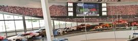 Christie MicroTiles en el Salón de la Fama de la NASCAR