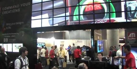 Vizrt and AMD IBC deployed an impressive video wall